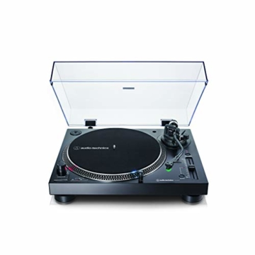 Audio-Technica AT-LP120X direktangetriebener Plattenspieler (Analog und USB) schwarz - 2