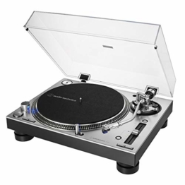 Audio-Technica AT-LP140XP Profi-Plattenspieler mit Direktantrieb silber - 1