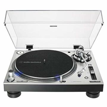 Audio-Technica AT-LP140XP Profi-Plattenspieler mit Direktantrieb silber - 2