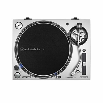Audio-Technica AT-LP140XP Profi-Plattenspieler mit Direktantrieb silber - 3