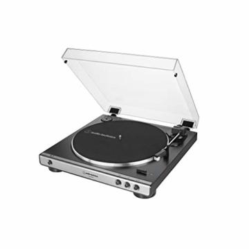 Audio-Technica AT-LP60XUSB VOLLAUTOMATISCHER STEREO-PLATTENSPIELER MIT RIEMENANTRIEB (ANALOG & USB) - 2