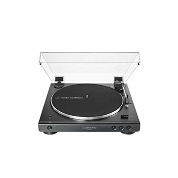 Audio-Technica LP60XBT Vollautomatischer Bluetooth Stereo-Plattenspieler, schwarz - 2