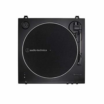 Audio-Technica LP60XBT Vollautomatischer Bluetooth Stereo-Plattenspieler, schwarz - 1