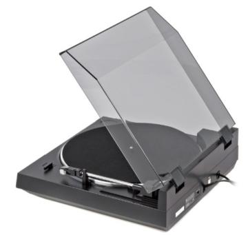 Dual DT 210 USB Schallplattenspieler (USB-Anschluss, 33/45 U/min) schwarz - 10