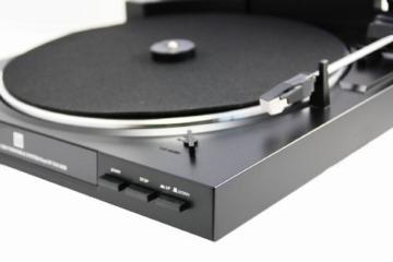 Dual DT 210 USB Schallplattenspieler (USB-Anschluss, 33/45 U/min) schwarz - 3