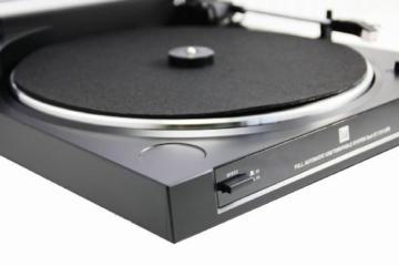 Dual DT 210 USB Schallplattenspieler (USB-Anschluss, 33/45 U/min) schwarz - 4
