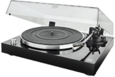 Dual DT 500 USB HiFi-Plattenspieler (33/45 U/min, Magnet-Tonabnehmer-System, USB-Anschluss, Holz-Gehäuse mit Hochglanz Lackierung) schwarz - 1