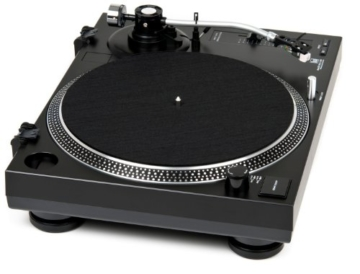 Dual DTJ 301.1 USB DJ-Plattenspieler (33/45 U/min, Pitch-Control, Magnet-Tonabnehmer-System, Nadelbeleuchtung, USB Kabel) schwarz - 3