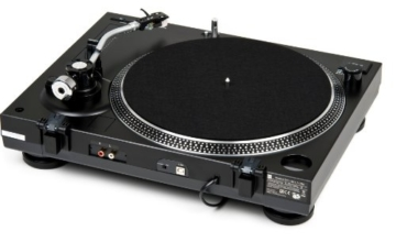 Dual DTJ 301.1 USB DJ-Plattenspieler (33/45 U/min, Pitch-Control, Magnet-Tonabnehmer-System, Nadelbeleuchtung, USB Kabel) schwarz - 4