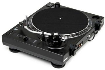 Dual DTJ 301.1 USB DJ-Plattenspieler (33/45 U/min, Pitch-Control, Magnet-Tonabnehmer-System, Nadelbeleuchtung, USB Kabel) schwarz - 5