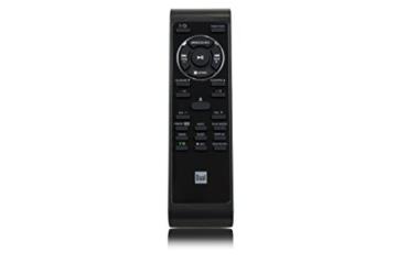 Dual NR 110 Kompaktanlage mit Schallplattenspieler (CD-Player, MP3, PLL-UKW-Radio, Riemenantrieb, 20 Senderspeicherplätze, Direct-Encoding, 3,5 mmm) schwarz - 6