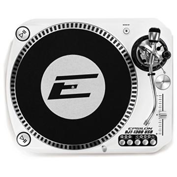 Epsilon DJT-1300 White - DJ Plattenspieler mit Direktantrieb - 1
