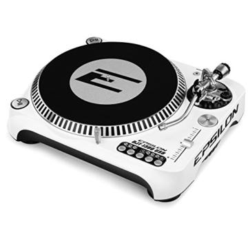 Epsilon DJT-1300 White - DJ Plattenspieler mit Direktantrieb - 2