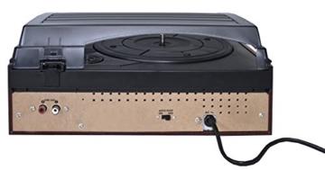 Karcher KA 8050 Plattenspieler mit eingebauten Lautsprechern silber - 4