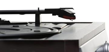Karcher KA 8050 Plattenspieler mit eingebauten Lautsprechern silber - 5