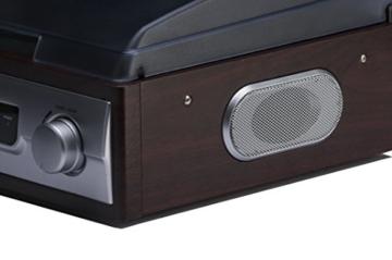 Karcher KA 8050 Plattenspieler mit eingebauten Lautsprechern silber - 7