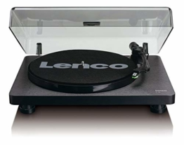 Lenco L-30 Turntable with Auto-Stop and PC encoding - Schwarz - 1