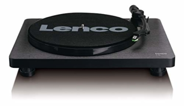 Lenco L-30 Turntable with Auto-Stop and PC encoding - Schwarz - 4