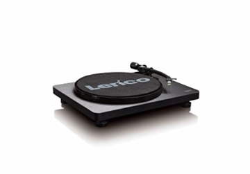 Lenco L-30 Turntable with Auto-Stop and PC encoding - Schwarz - 5