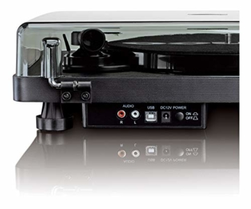 Lenco L-30 Turntable with Auto-Stop and PC encoding - Schwarz - 6