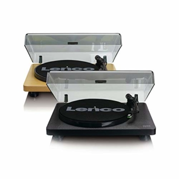 Lenco L-30 Turntable with Auto-Stop and PC encoding - Schwarz - 7