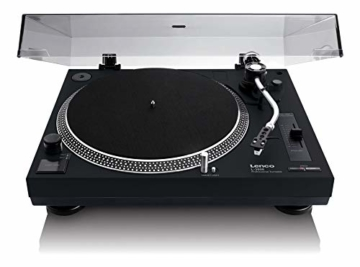 Lenco L-3808 Direct Drive Turntable - Schwarz - 1