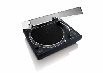 Lenco L-3808 Direct Drive Turntable - Schwarz - 2