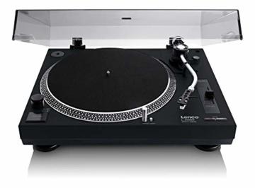 Lenco L-400 - DJ Plattenspieler mit Direktantrieb - MP3 Konvertierung und Pitch Control - 1