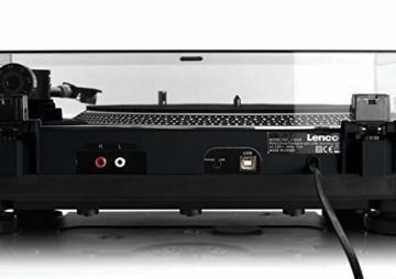 Lenco L-400 - DJ Plattenspieler mit Direktantrieb - MP3 Konvertierung und Pitch Control - 6