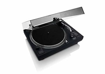 Lenco L-400 - DJ Plattenspieler mit Direktantrieb - MP3 Konvertierung und Pitch Control - 8