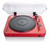 Lenco L-85 USB Direct Recording Turntable - Rot - 1