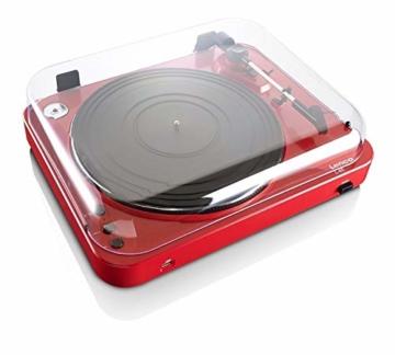 Lenco L-85 USB Direct Recording Turntable - Rot - 2