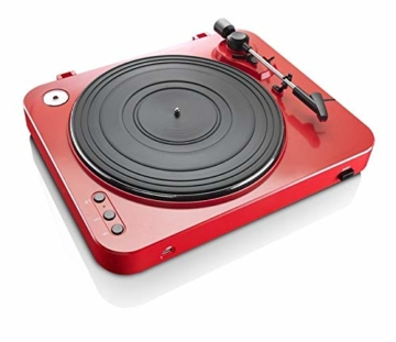 Lenco L-85 USB Direct Recording Turntable - Rot - 4