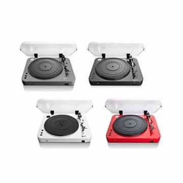 Lenco L-85 USB Direct Recording Turntable - Rot - 6