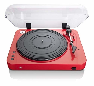 Lenco L-85 USB Direct Recording Turntable - Rot - 9