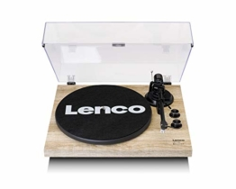 Lenco LBT-188 - Turntable with Bluetooth and USB Connection - Holz - 1