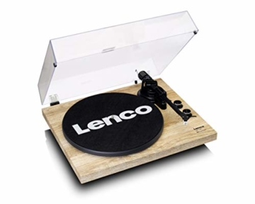 Lenco LBT-188 - Turntable with Bluetooth and USB Connection - Holz - 3