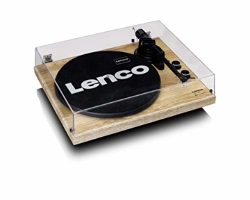 Lenco LBT-188 - Turntable with Bluetooth and USB Connection - Holz - 4