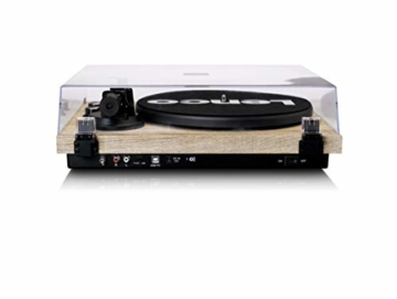 Lenco LBT-188 - Turntable with Bluetooth and USB Connection - Holz - 5