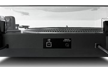Numark TT250USB | Professioneller DJ-Plattenspieler mit Direktantrieb und starkem Anlaufdrehmoment, Aluminium-Plattenteller, hochwertigem Magnettonabnehmer und 3,5-mm-Eingang für Fernstartfunktion - 6
