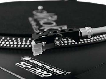 Omnitronic BD-1320 Plattenspieler schwarz | Riemengetriebener DJ-Plattenspieler | Lieferung inkl. Tonabnehmersystem - 6