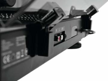 Omnitronic BD-1320 Plattenspieler schwarz | Riemengetriebener DJ-Plattenspieler | Lieferung inkl. Tonabnehmersystem - 8