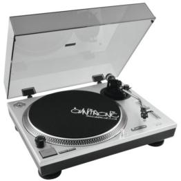 OMNITRONIC BD-1550 Plattenspieler silber - 1