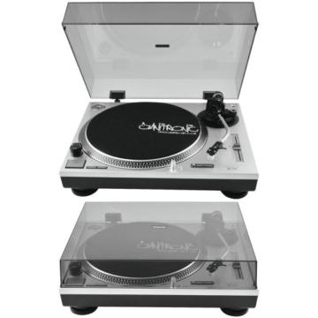 OMNITRONIC BD-1550 Plattenspieler silber - 2
