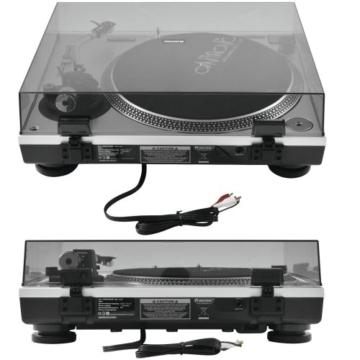 OMNITRONIC BD-1550 Plattenspieler silber - 3