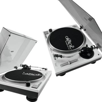 OMNITRONIC BD-1550 Plattenspieler silber - 4
