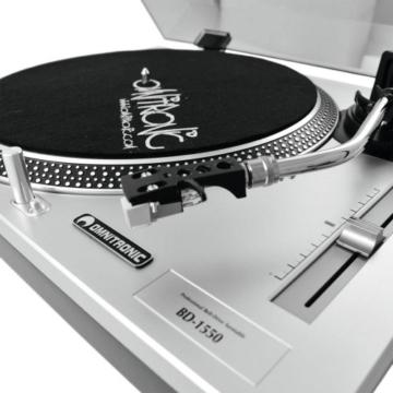 OMNITRONIC BD-1550 Plattenspieler silber - 7