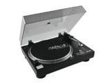 Omnitronic DD-2520 USB-Plattenspieler sw, Direktgetriebener DJ-Plattenspieler mit Phono-/Line-Umschaltung, Digitalisieren Sie in wenigen Schritten Ihre alten Vinyl-Schätze - 1