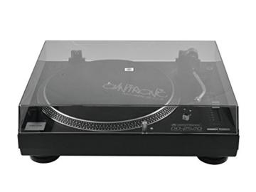 Omnitronic DD-2520 USB-Plattenspieler sw, Direktgetriebener DJ-Plattenspieler mit Phono-/Line-Umschaltung, Digitalisieren Sie in wenigen Schritten Ihre alten Vinyl-Schätze - 3