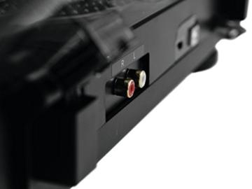 Omnitronic DD-2520 USB-Plattenspieler sw, Direktgetriebener DJ-Plattenspieler mit Phono-/Line-Umschaltung, Digitalisieren Sie in wenigen Schritten Ihre alten Vinyl-Schätze - 8